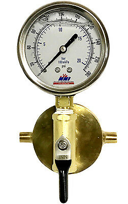 "NNI 1-1/2"" NST Fire Hydrant Static Pressure 300PsGauge with Bleeder Valve"