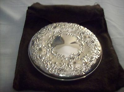 Vintage Towle Sterling Silver 3 inch Round Hand Mirror