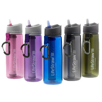 Lifestraw Go Water Bottle With 2-Stage Filtration Choose Colour Ideal For Travel