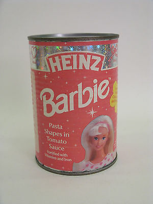 BARBIE Heinz Pasta Shapes Year 1997 Holographic Limited Edition  a rare unopened