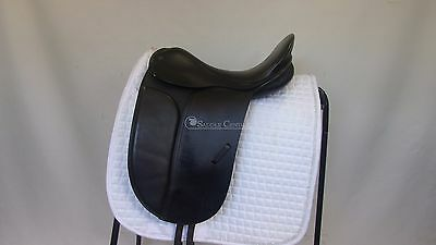 "County Competitor 17"" wide fit  Dressage Saddle"