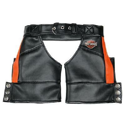Build a Bear Clothing - Harley-Davidson Motorcycles® Black Chaps - New