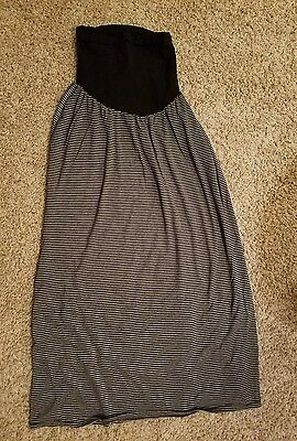 Oh Baby by Motherhood Maternity Maxi Skirt- Size Large