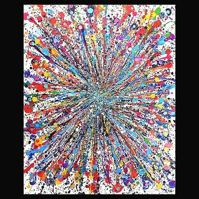 Original Modern Abstract Painting Wall art contemporary Canvas - Huge home decor