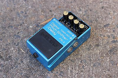 1990 Boss PS-2 Digital Pitch Shifter Delay MIJ Japan Vintage Effects Pedal