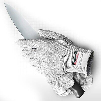 Power Cut V Cut-resistant Butcher Knit Slash Safety Work Gloves (Extra Large)