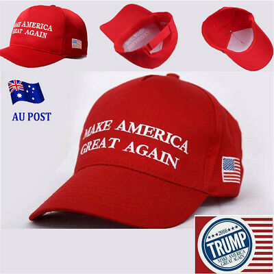 Donald Trump Make America Great Again Hat 2016 Republican Embroidery Cap MN