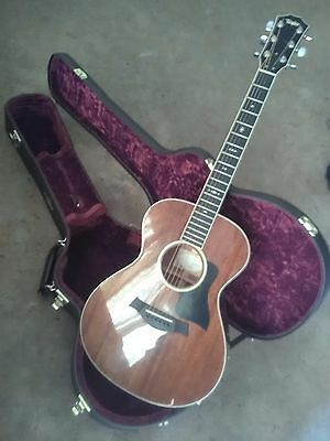 Taylor M522 Grand Concert Acoustic Guitar and Case