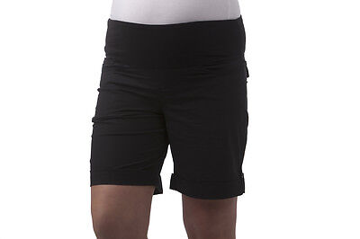 Ninth Moon Shorts Paper Cargo Black- 10 NWT MATERNITY