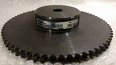 Martin D35B68 roller chain sprocket reboreable type B hub double strand 68 tooth