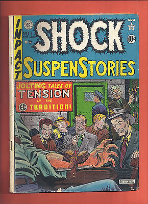 Shock Suspenstories #1 1952 Mid Grade Others Available