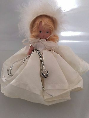 """Nancy Ann Storybook Doll  - """"Winter 93"""" Bisque, WITH BOX  RARE!"""