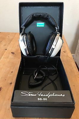 Sansui SS-50 Vintage Headphones In Excellent Condition.