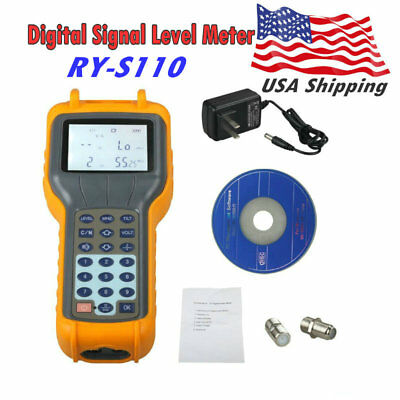 RY-S110 RY S110 CATV Cable TV Digital Signal Level Meter Equipment DB Tester
