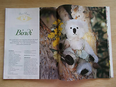 ADB&C Vol 5 #4~Doll & Bear Patterns~Koala~Crochet~Little Rascal~Emma-Louise...