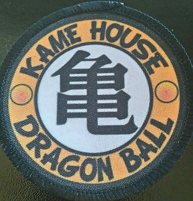 DRAGON BALL Patch parche Kame house goku vegeta trunks akira