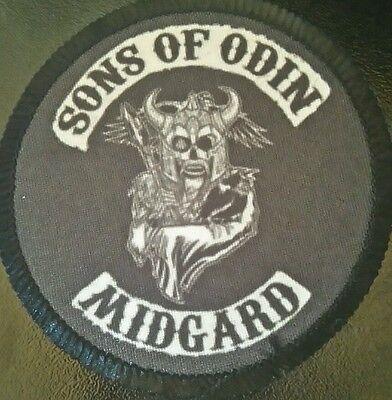 SONS OF ODIN midgard Patch parche vikings odin asatru