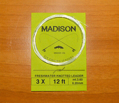 N. 5 Finali a nodi Madison Clear 12 ft (mt. 3,60)