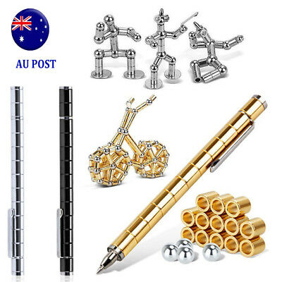 Modular Polar Pen Magnetic Magnets Ball Touch Pen With 12 Steel Balls in box MN