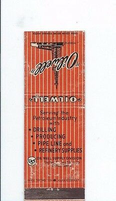 MATCHBOOK COVER Oilwell