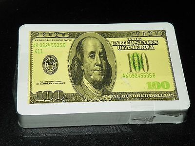 New Sealed Deck of 100 DOLLARS Playing Cards  - Vintage  #5