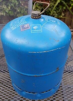 * Empty Campngaz International Bottle 907 Gas Camping Cooking Great Dunmow Essex