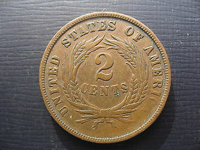 United States 2 Cents 1866