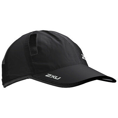 2XU Run Cap Triathlon Black/Black