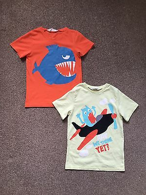 Boys Short Sleeved T Shirt - Aged 4-6 Years - H&M