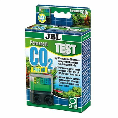 JBL CO2/pH Permanent ensemble de Test Dauertest Aquarium Mesure directe