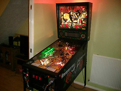 Guns N Roses Pinball Machine - Collector Quality & Factory Fitted headphone port