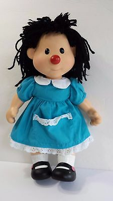 Molly Doll from Comfy Couch Tv Show 14 inches Tall Plastic with Soft Body 1996