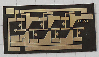 24 GHz HEMT Amplifier waveguide PCB Leiterplatte