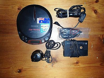 Sony Discman Portable Cd Player With Accessories- Excellent Condition