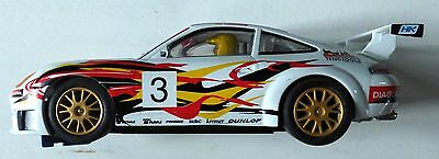 Scalextric 1:32 Scale - Porsche 911 GT3R working front lights and magnatraction