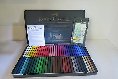 Faber Castell Set Of 60 Pastel Polychromos, Art No.128560,hard Case,professional