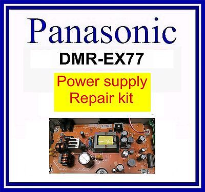 Repair kit for Panasonic DMR-EX77 Power supply board, psu panel