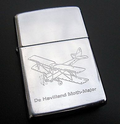 Lighter zippo 1988 de havilland moth major british aircraft aviation avion