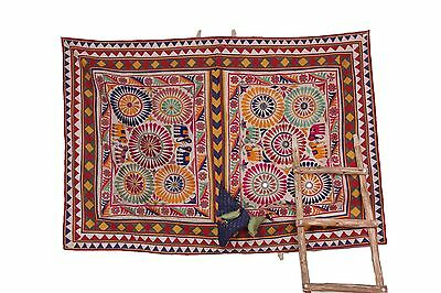 Beautiful Traditonal  Banjara Yoke Embroidery Applique Patch Superb Sewing Craft