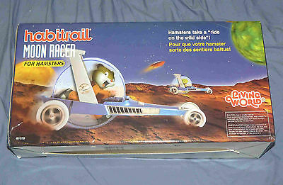 RARE AND AMAZING! Brand new HABITRAIL Moon Racer for Hamsters - exercise ball