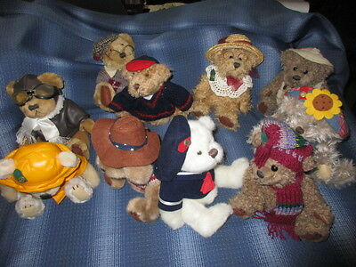 Pickford Bears Brass Button Collection 10 Bears