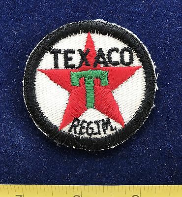 Vintage TEXACO OIL Gas Station Old Uniform Patch
