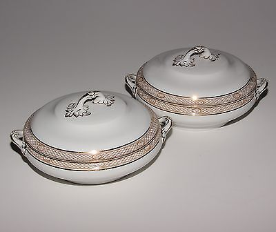 Losol Ware 2 X Vegetable Tureens.