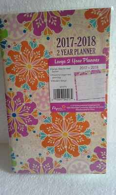 Paper Craft 2 Year Monthly Planner, 2017-2018, New