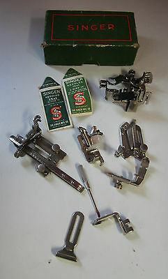 Lot Singer Sewing machine Attachments 120598 36683 35931 121877 121464 120855