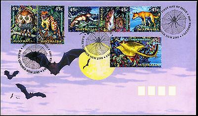 Australia 1997 First Day Cover FDC - Creatures of the Night