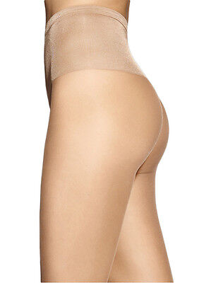 Women's Exclusive 15 Denier Sheer Tights, Silky Smooth 3D Pantyhose, Marilyn Sil