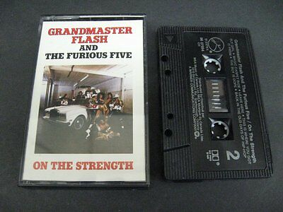 Grandmaster Flash and the furious five on the strenght - Cassette Tape