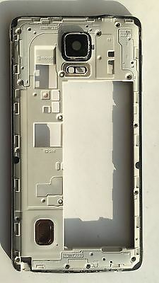 Genuine Samsung Galaxy Note 4 SM N910F Original Bezel Mid Frame Chassis Housing