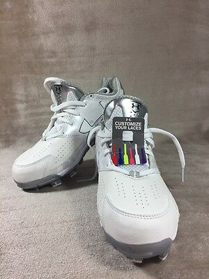 Women Under Armour Spine Glyde Low TPU Molded Softball & Baseball Cleats Sz 6.5